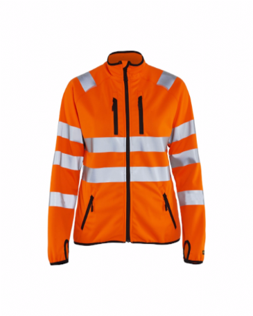 Blaklader 4926 Ladies High Vis Jacket Softshell (Orange)